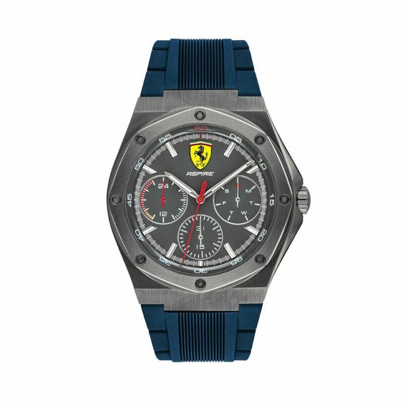 Ferrari óra - Aspire Chrono kék-antracit