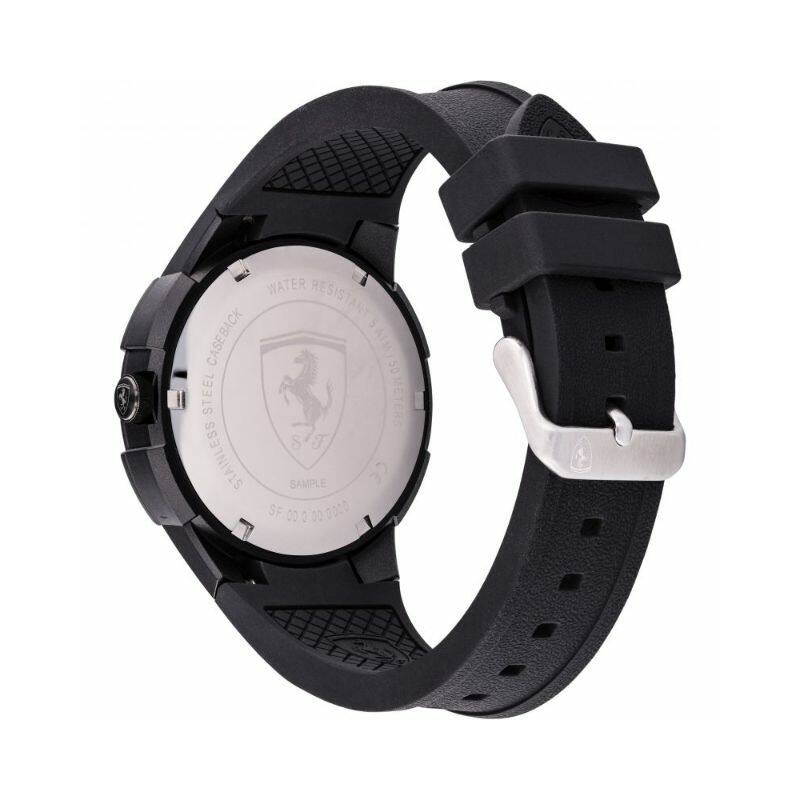 Ferrari óra - Apex fekete-piros