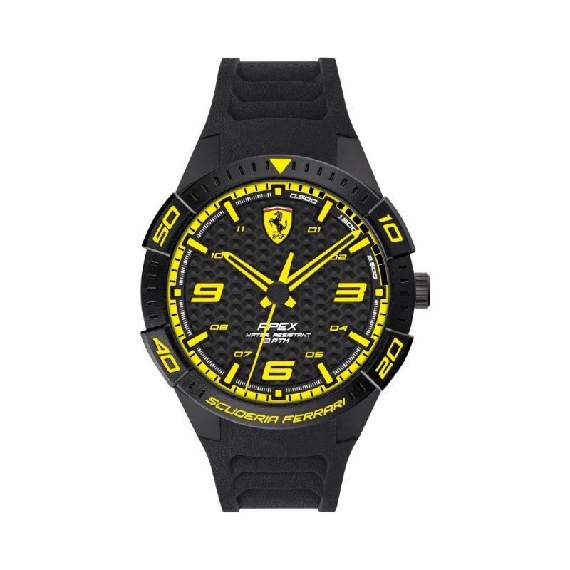 Ferrari óra - Apex fekete-sárga