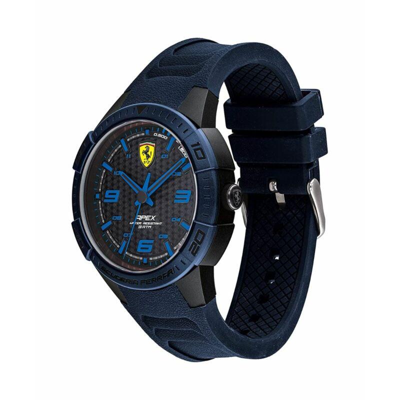 Ferrari óra - Apex kék-fekete