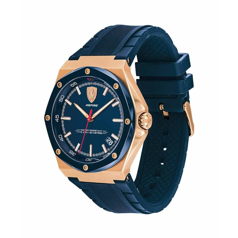 Ferrari óra - Aspire kék-arany