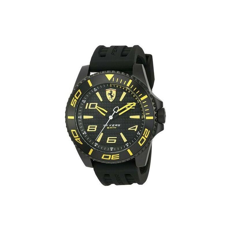 Ferrari óra - XX KERS fekete-sárga