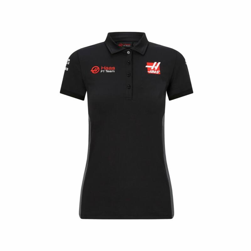 Haas női galléros póló - Team
