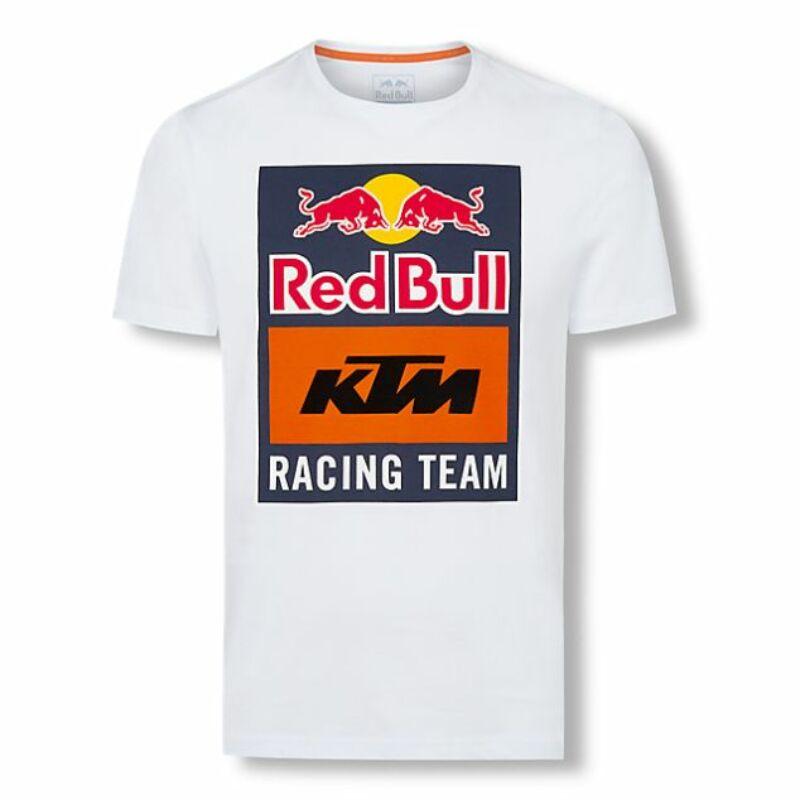 KTM póló - Team Logo fehér