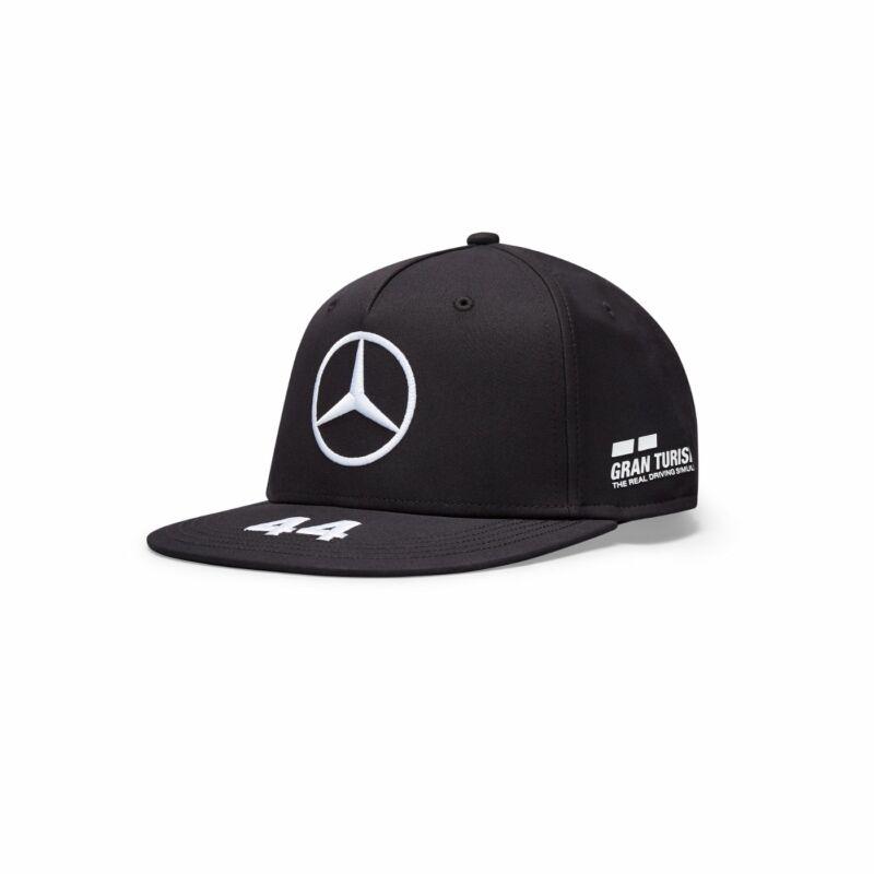 Mercedes AMG Petronas sapka - Driver Hamilton Flatbrim Black