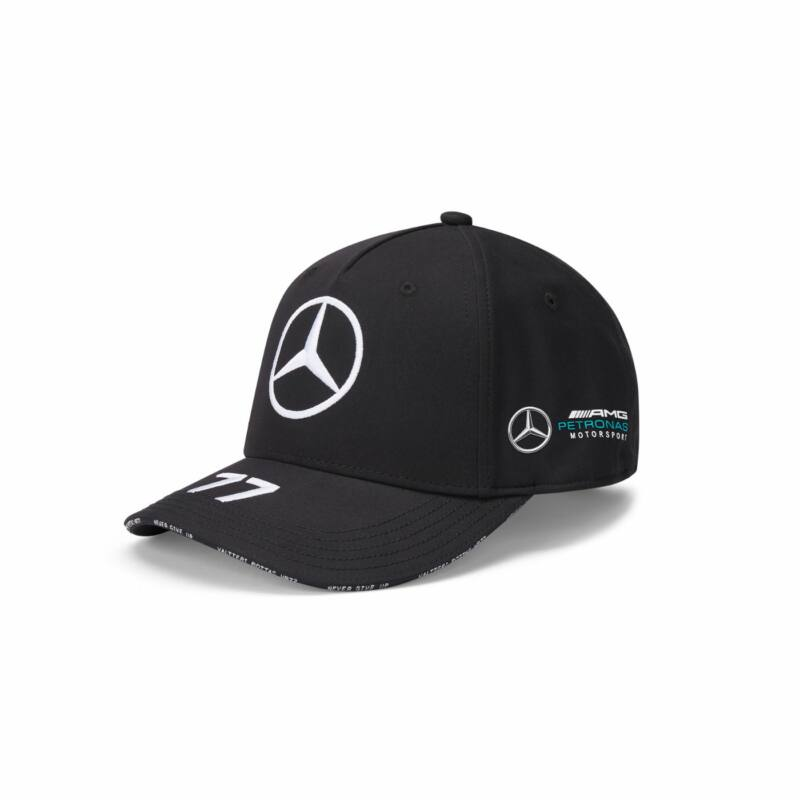 Mercedes AMG Petronas sapka - Driver Bottas Black