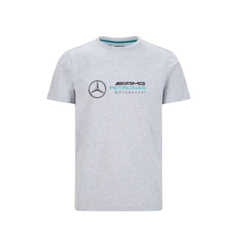Mercedes AMG Petronas póló - Large Team Logo szürke