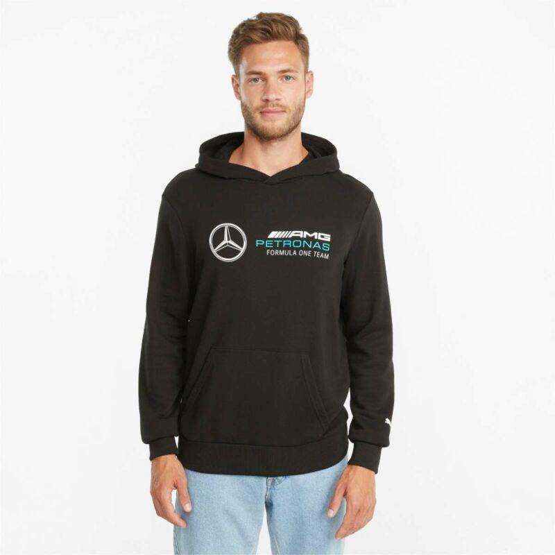 Mercedes AMG Petronas pulóver - Large Team Logo Essential fekete