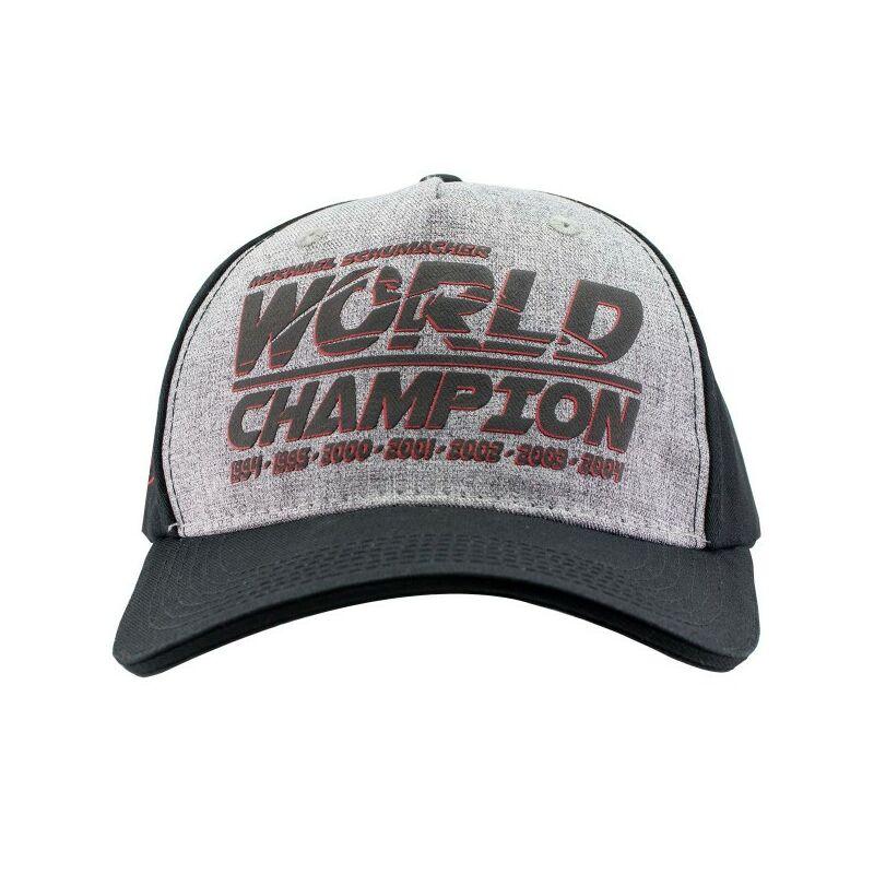 Schumacher sapka - World Champion szürke
