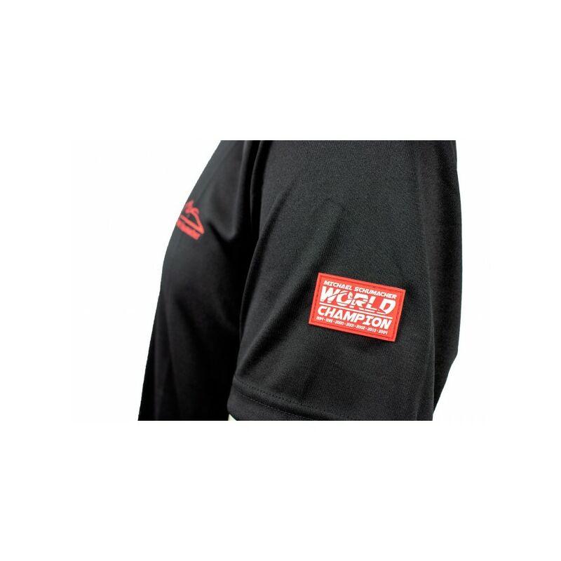 Schumacher póló - MS Logo Duocolor fekete