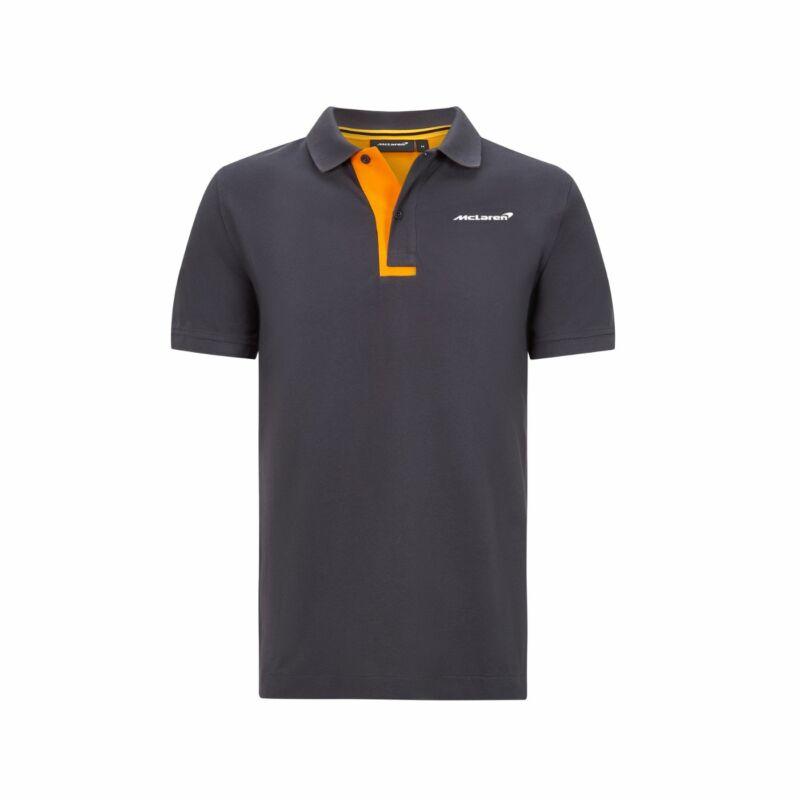 McLaren galléros póló - Essential szürke
