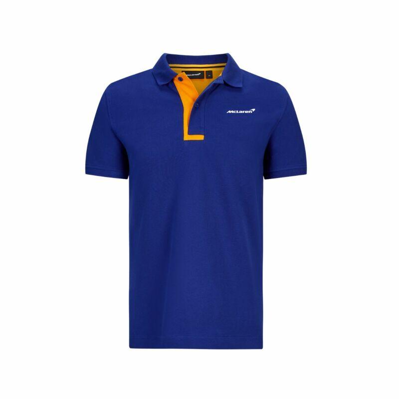 McLaren galléros póló - Essential kék