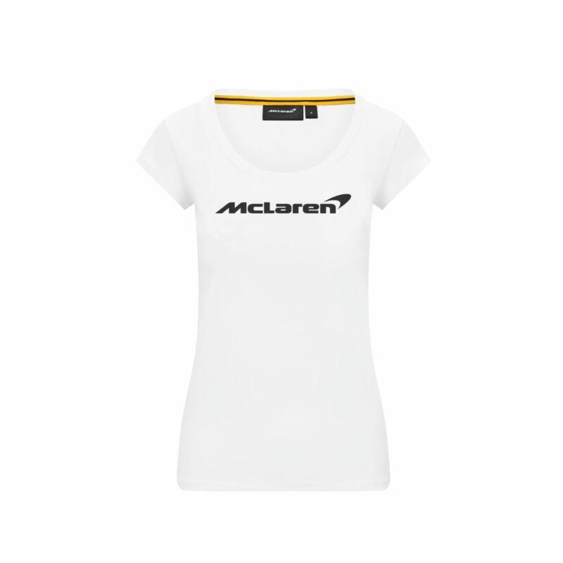 McLaren top - Essential fehér