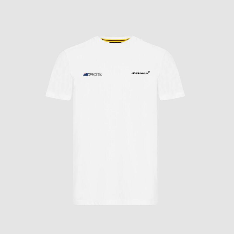 McLaren póló - No. 3 Back fehér