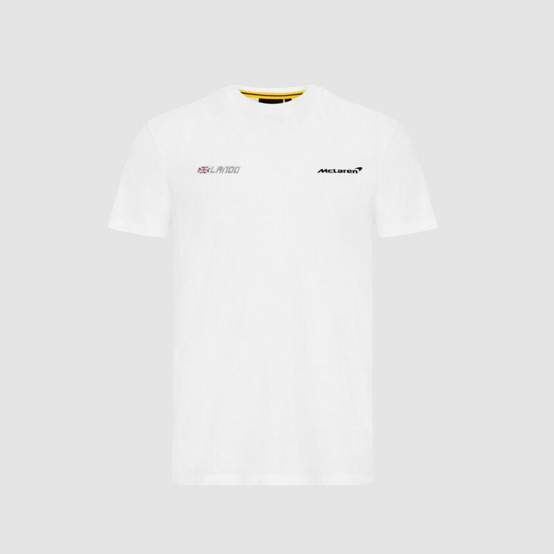 McLaren póló - No. 4 Back fehér