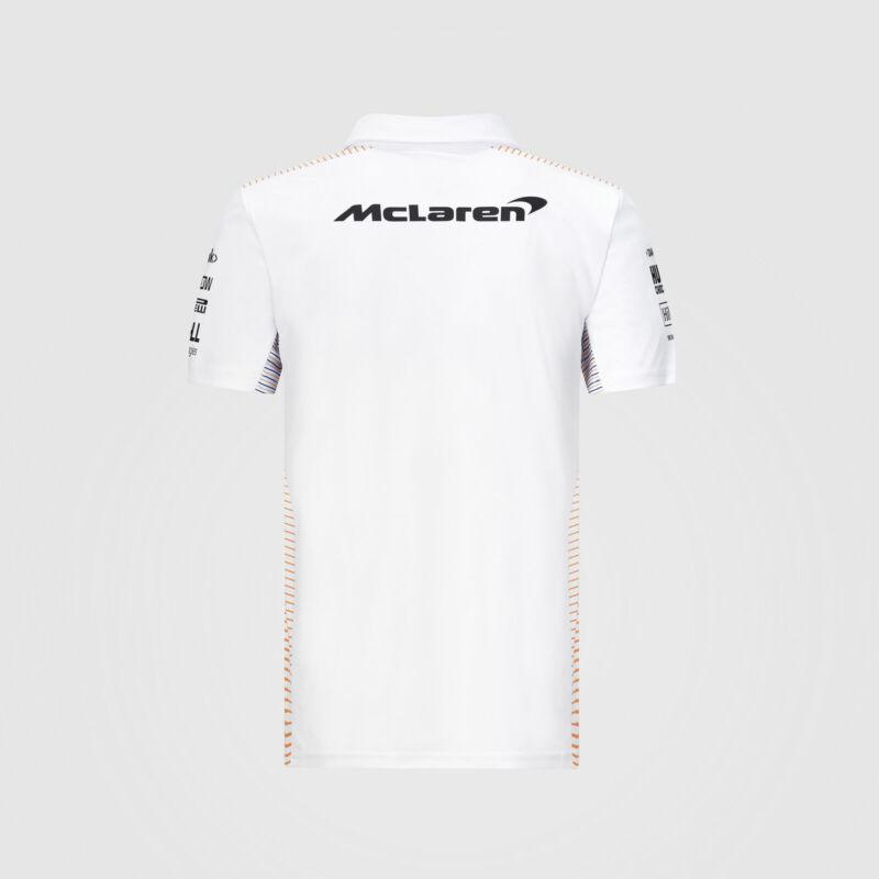 McLaren galléros póló - Team White
