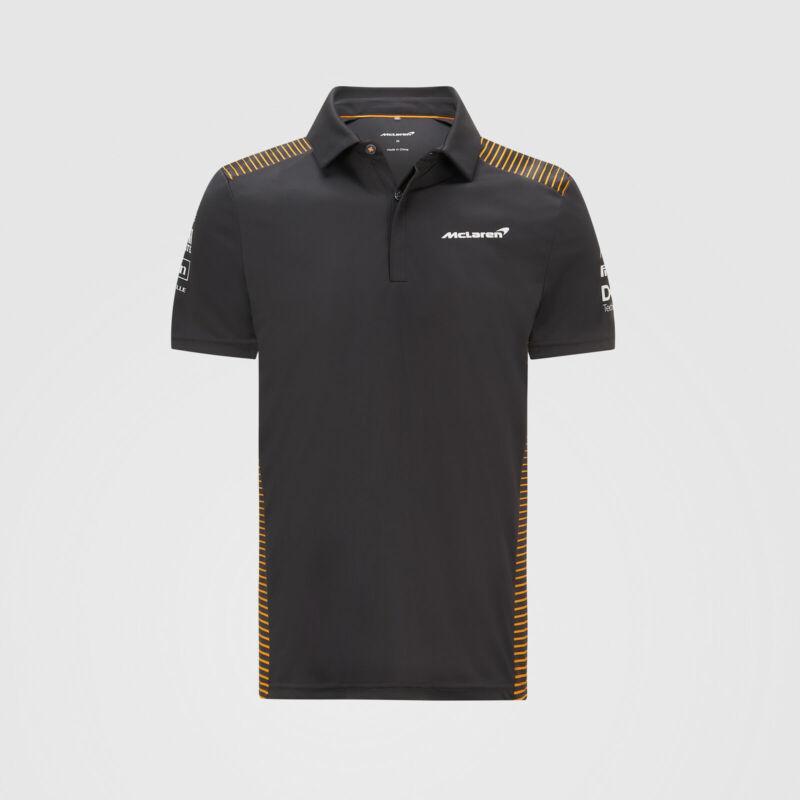 McLaren galléros póló - Team Grey
