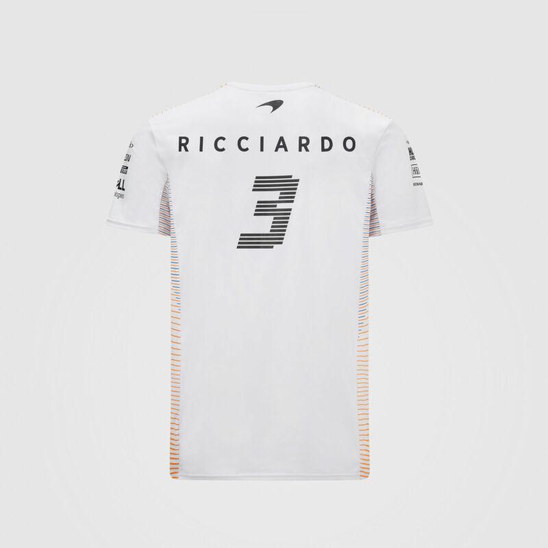 McLaren póló - Team/Ricciardo White