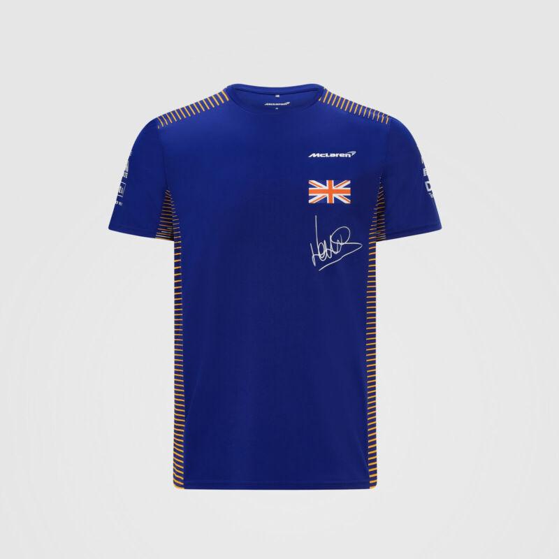 McLaren póló - Team/Norris Blue