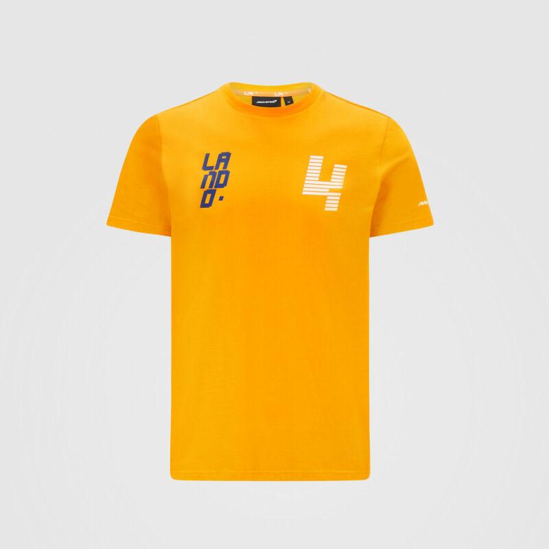 McLaren póló - LN 4 narancssárga
