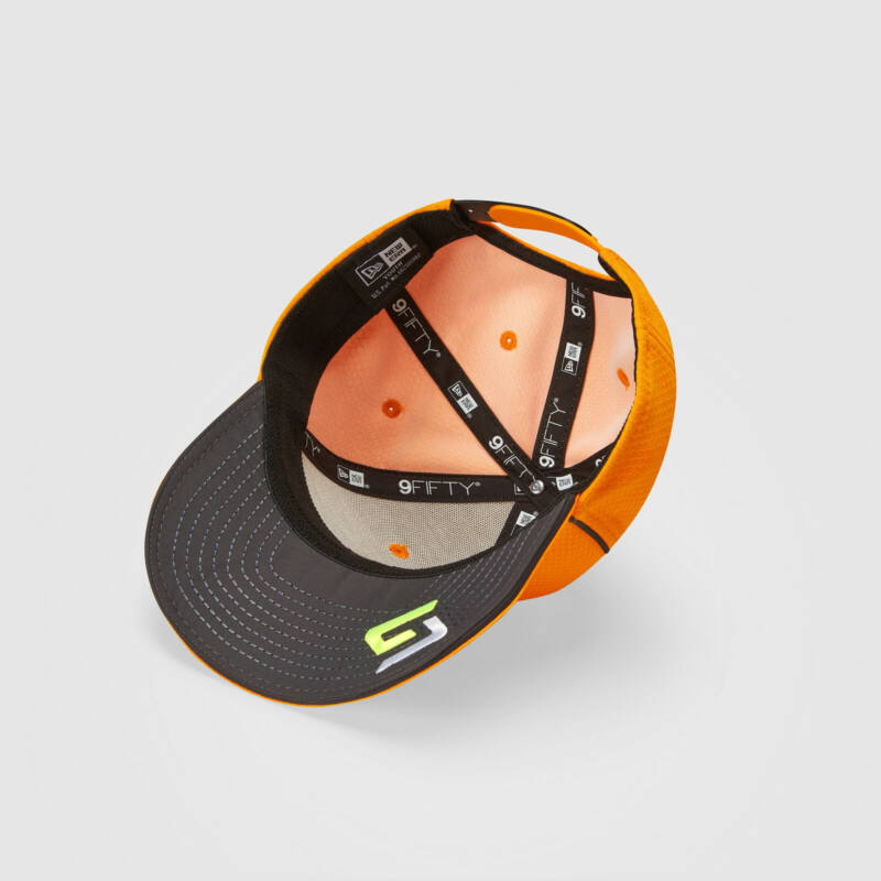 McLaren sapka - Driver Lando Norris narancssárga