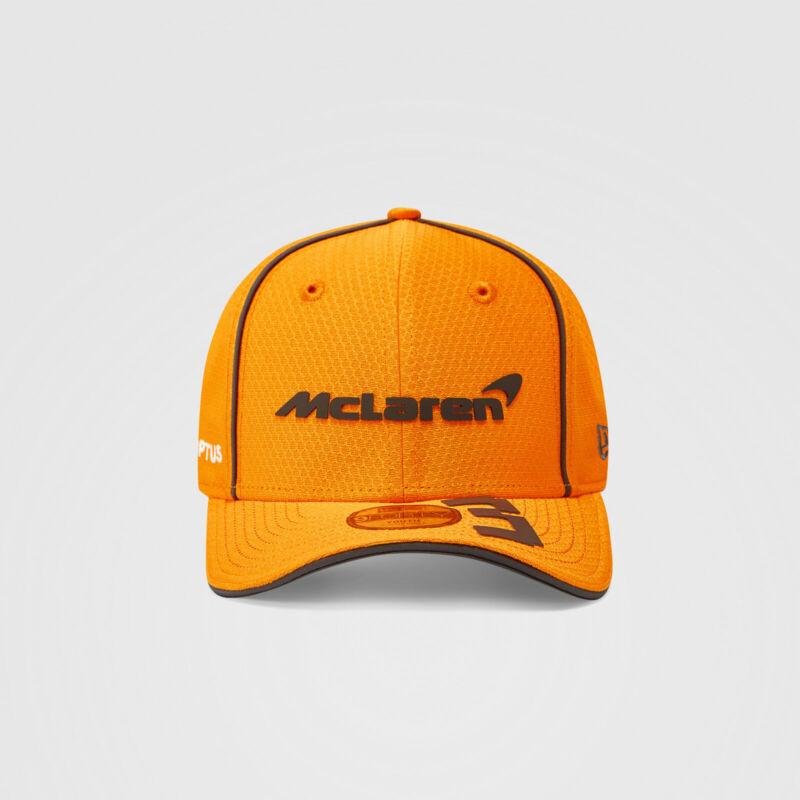 McLaren gyerek sapka - Driver Daniel Ricciardo narancssárga