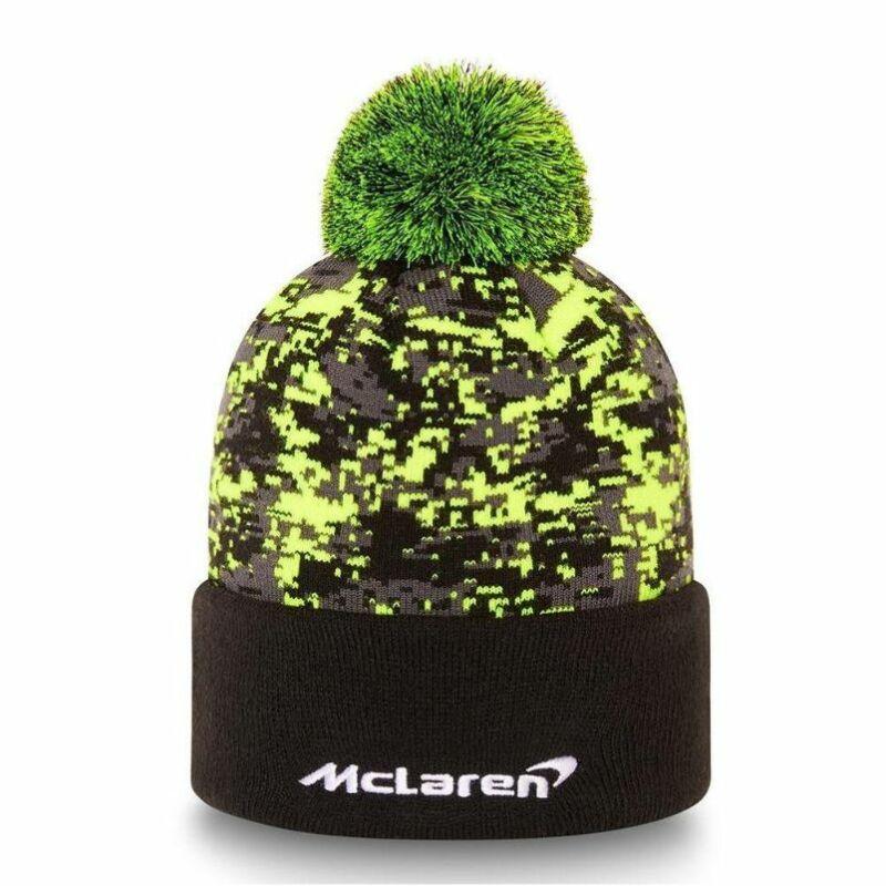 McLaren sí sapka - Norris Glitch Pack