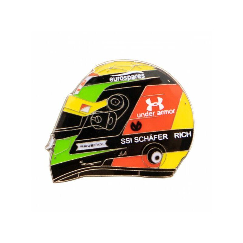 Mick Schumacher kitűző - Helmet