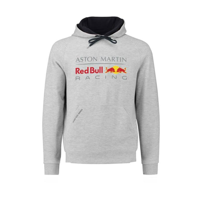 Red Bull Racing pulóver - Large Team Logo Classic szürke