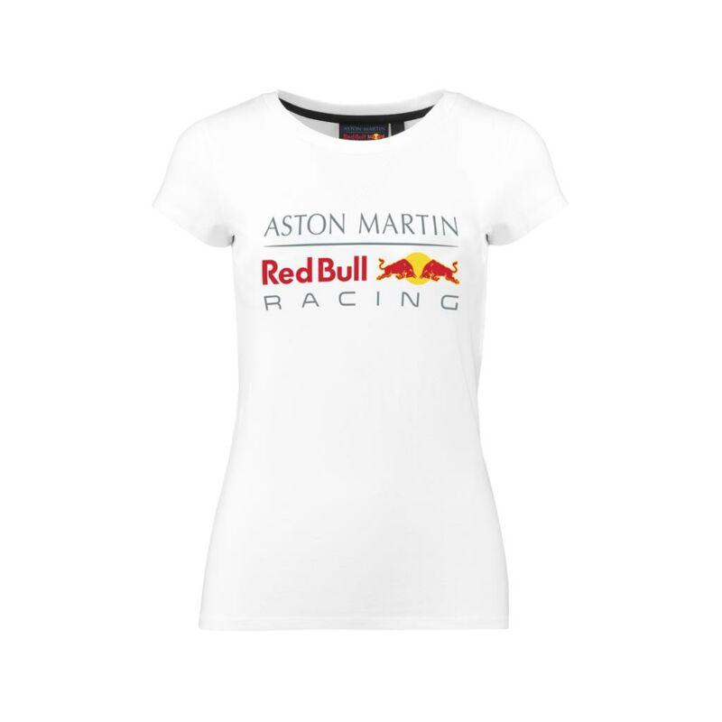 Red Bull Racing top - Large Team Logo Classic fehér