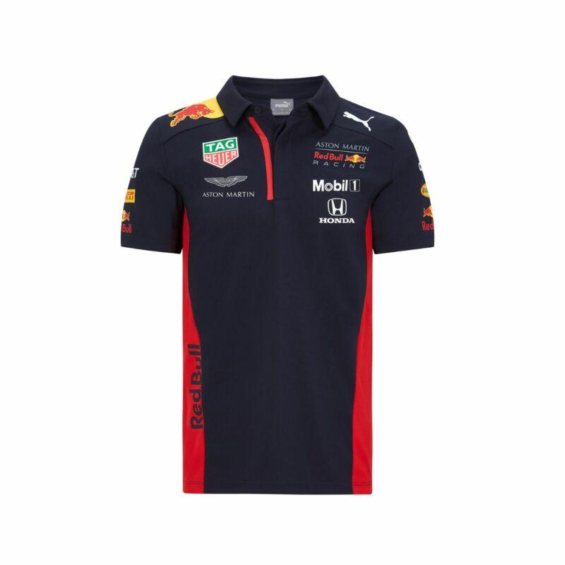 Red Bull Racing gyerek galléros póló - Team Line