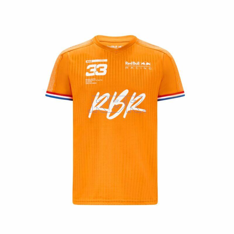 Red Bull Racing póló - Max Verstappen Oranje