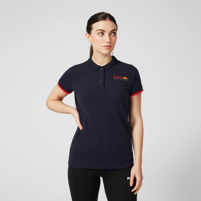 Red Bull Racing női galléros póló - Team Logo kék