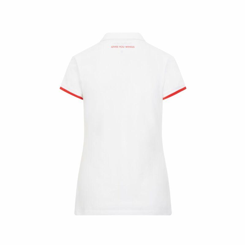 Red Bull Racing női galléros póló - Team Logo fehér