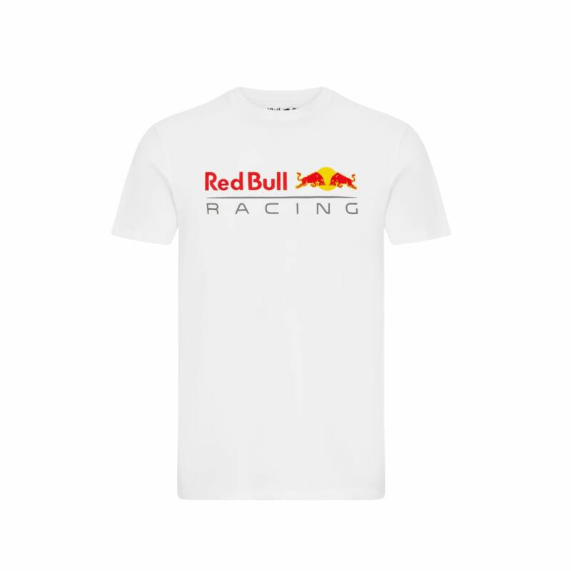Red Bull Racing póló - Large Team Logo fehér