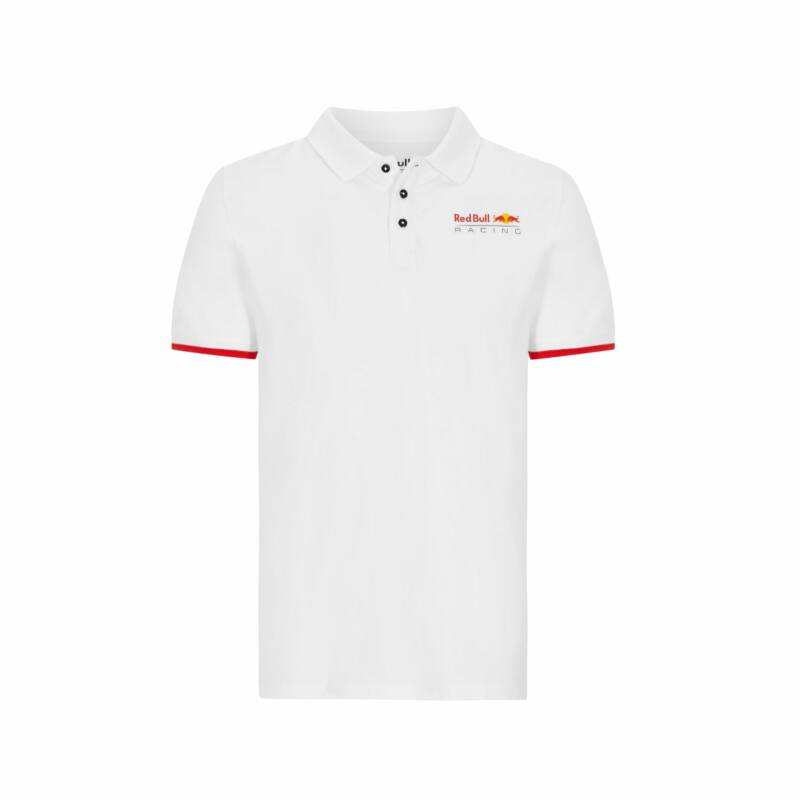 Red Bull Racing galléros póló - Team Logo Duocolor fehér