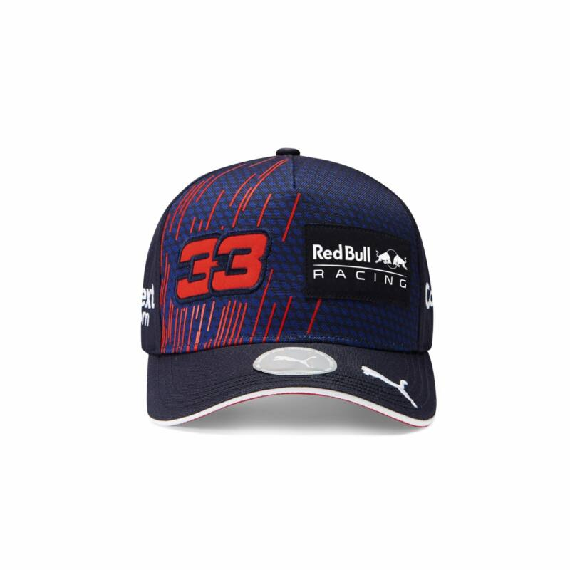 Red Bull Racing sapka - Driver Max Verstappen Baseball