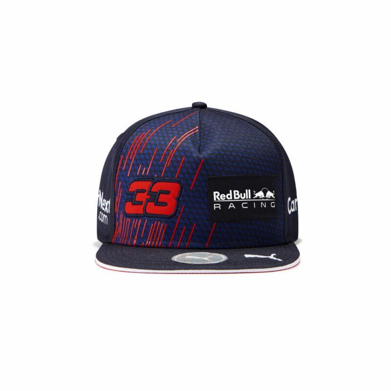 Red Bull Racing sapka - Driver Max Verstappen Flatbrim