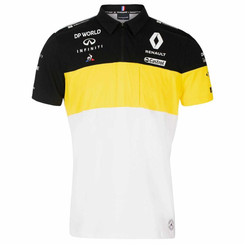 Renault F1 galléros póló - Team White