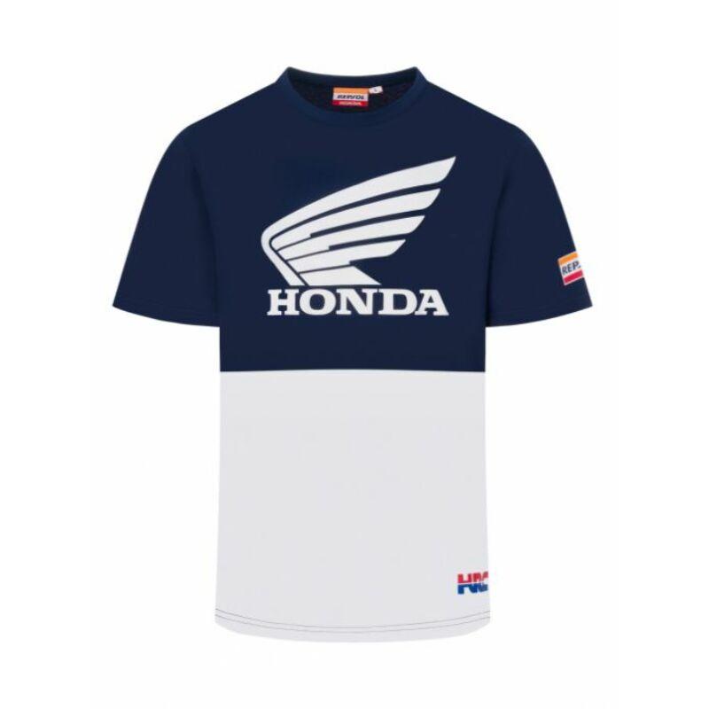Repsol Honda póló - Team Basic Wing Duocolor
