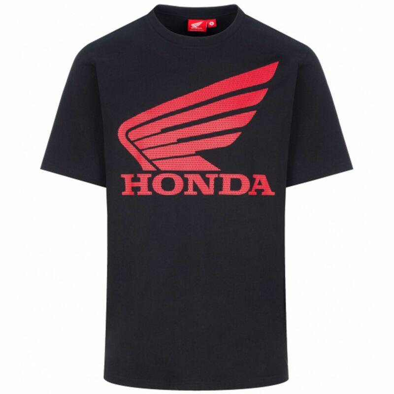 Honda póló - Honda Wing Large fekete