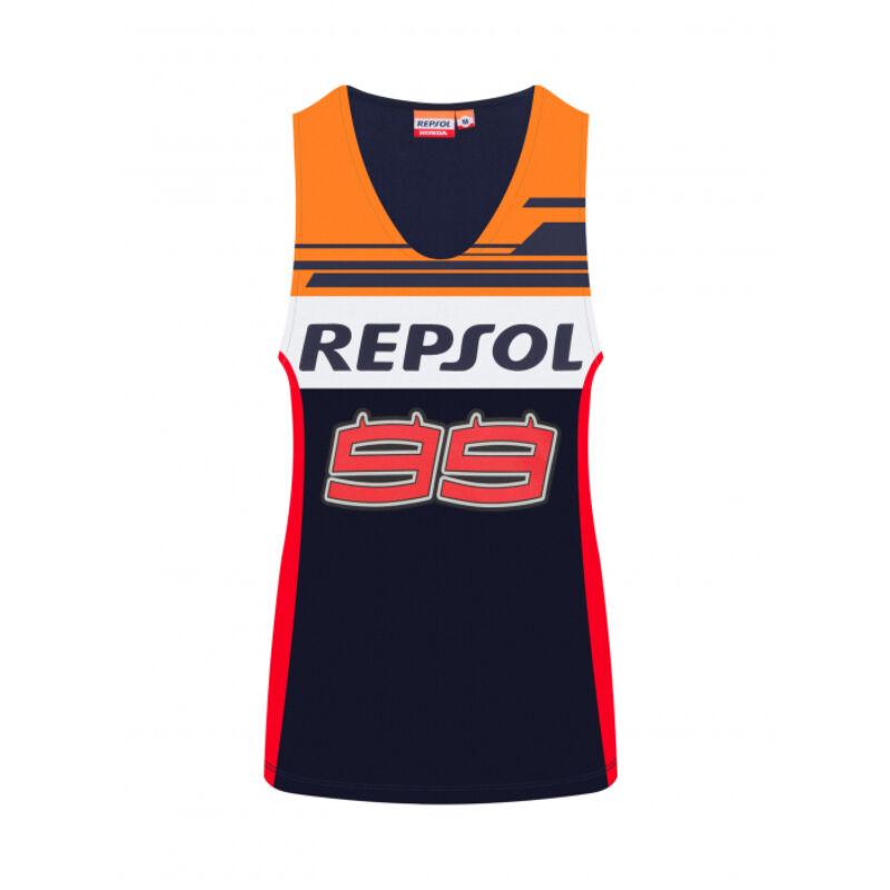 Repsol Honda női trikó - 99 kék