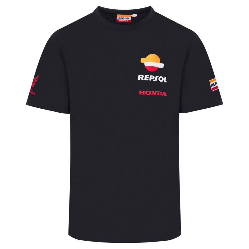Repsol Honda póló - Team Basic fekete