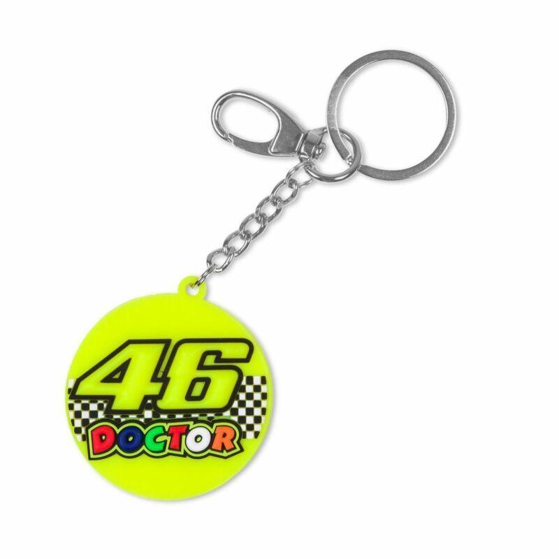 Rossi kulcstartó - Double Logo Round