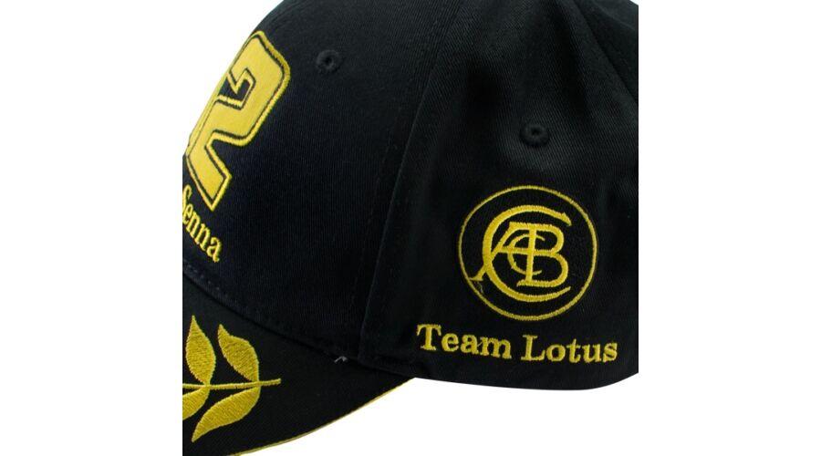 Hivatalos Ayrton Senna rajongói termékek - Senna sapka - Lotus ... 1017cb610b