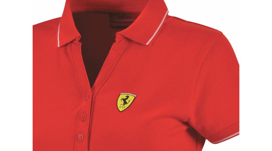 Hivatalos Ferrari rajongói termékek - Ferrari női galléros póló ... be5e7d673e