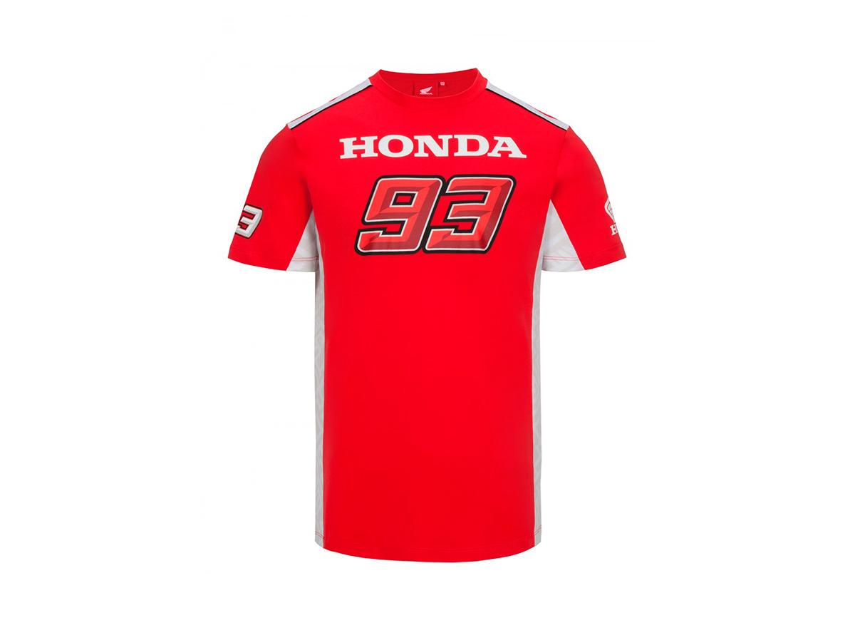 Hivatalos Repsol Honda Team rajongói termékek - Repsol Honda póló - Dual  Marquez piros fd8bbb5b4b